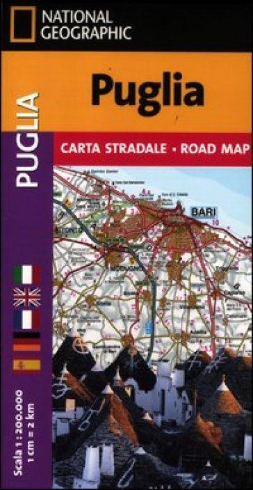 Puglia 1:200.000 -  pdf epub