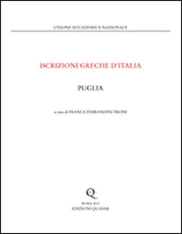 Puglia - Franca Ferrandini Troisi |