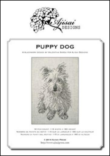 Puppy dog. A blackwork design - Valentina Sardu | Rochesterscifianimecon.com