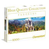 Puzzle 1000 Pz - High Quality Collection - Panorama - Neuschwanstein