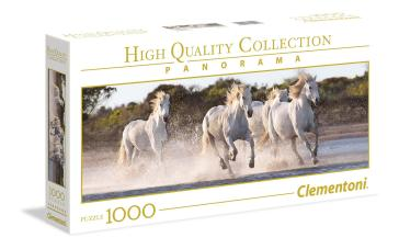 Puzzle 1000 Pz - High Quality Collection - Panorama - Running Horses