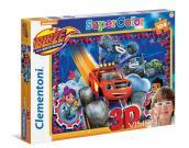 Puzzle 104 3D Blaze And The Monster Machines