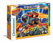 Puzzle 104 Maxi Blaze And The Monster Machines