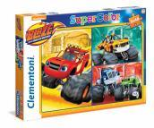 Puzzle 3X48 Blaze And The Monster Machines