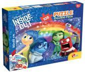 Puzzle Df Plus 108 Inside Out Emotions Rainbow