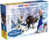 Puzzle Df Supermaxi 35 Frozen Olaf And Friends