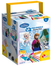 Puzzle In A Tub Maxi 48 Frozen The Castle