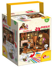 Puzzle In A Tub Maxi 48 Masha In The House