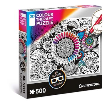 Puzzles 500 Pezzi Colour Therapy - Flowers