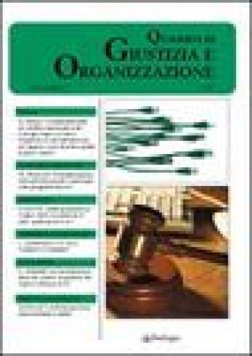 QUaderni di giustizia e organizzazione (2007). Vol. 3 - Comiug pdf epub
