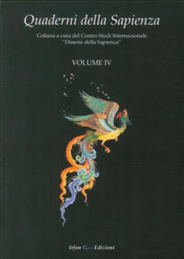 Quaderni della Sapienza. 4. - Centro studi internazionale Dimore della Sapienza |