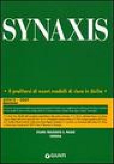 Quaderni di Synaxis. 25.