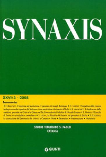 Quaderni di Synaxis. 26.
