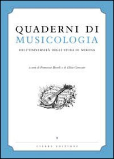 Quaderni di musicologia dell'università degli studi di Verona - F. Bissoli   Rochesterscifianimecon.com