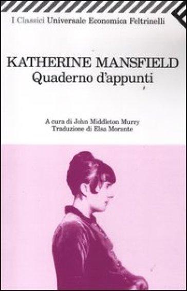 Quaderno d'appunti - Katherine Mansfield  