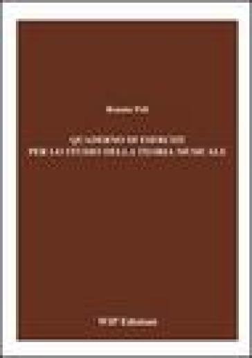 Quaderno di esercizi per lo studio della teoria musicale - Renata Poli |