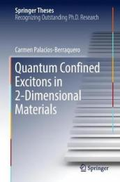 Quantum Confined Excitons in 2-Dimensional Materials