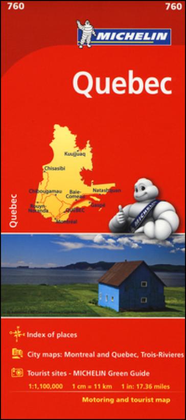 Québec 1:1.100.000