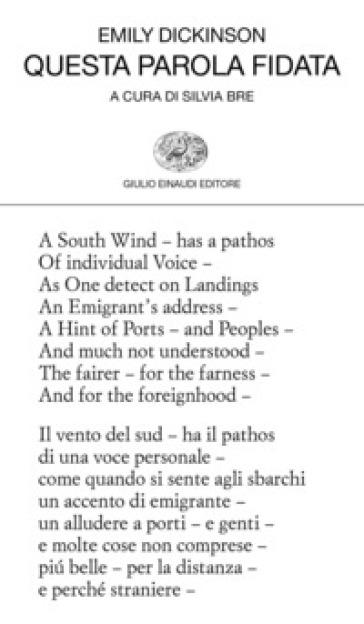 Questa parola fidata. Testo inglese a fronte - Emily Dickinson |
