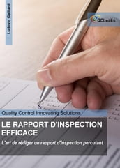 LE RAPPORT D INSPECTION EFFICACE