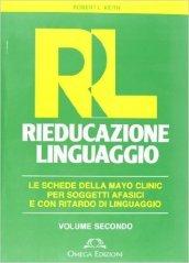 RL. Rieducazione linguaggio. 2.