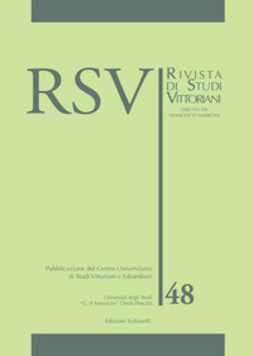 RSV. Rivista di studi vittoriani. 48. - F. Marroni |