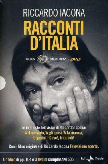 Racconti d'Italia. 3 DVD. Con libro - Riccardo Iacona | Rochesterscifianimecon.com