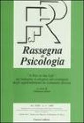 Rassegna di psicologia (2006). 3.«A day in the life»: un