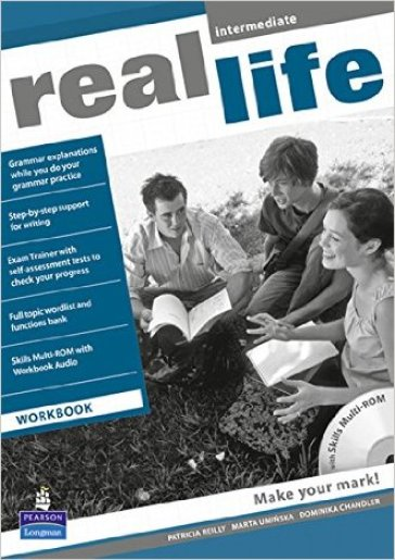 Real life. Intermediate. Workbook. Per le Scuole superiori. Con Multi-ROM