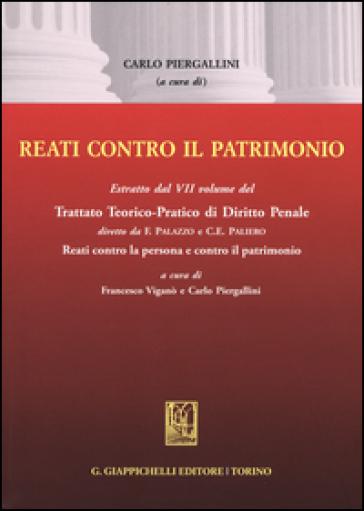 Reati contro il patrimonio. Estratto - C. Piergallini | Rochesterscifianimecon.com
