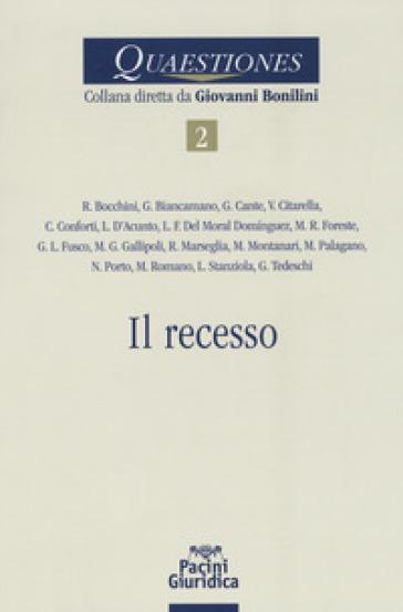 Recesso - Bocchini | Thecosgala.com