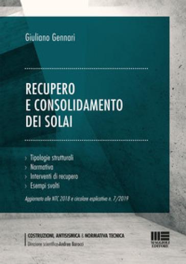 Recupero e consolidamento dei solai - Giuliano Gennari   Thecosgala.com