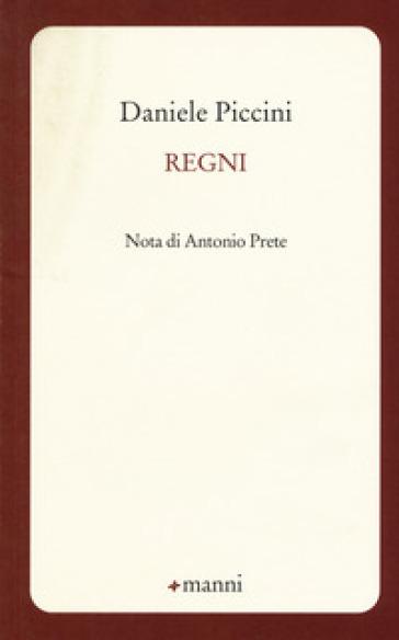Regni - Daniele Piccini |