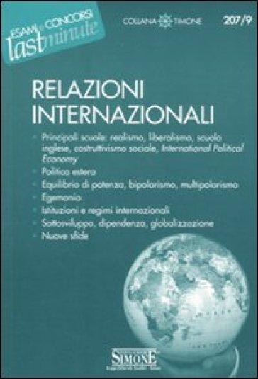 Relazioni internazionali - G. Cammilli |