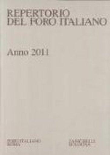 Repertorio foro italiano 2011
