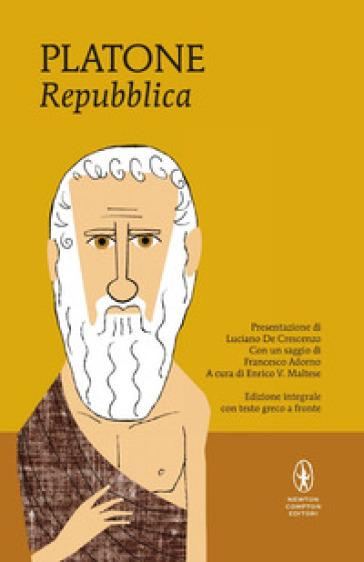 La Repubblica. Testo greco a fronte. Ediz. integrale - Platone |