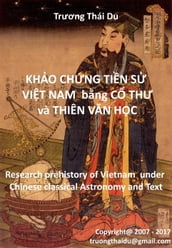 Research Prehistory of Vietnam under Chinese Classical Astronomy and Text