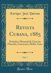 Revista Cubana, 1885, Vol. 1