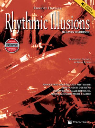 Rhythmic illusions. Con CD Audio - Gavin Harrison   Thecosgala.com