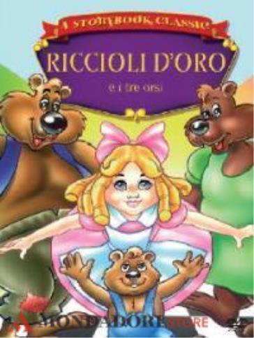 Riccioli doro e i tre orsi dvd mondadori store
