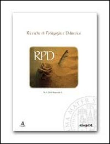 Ricerche di pedagogia e didattica (2010). 5.