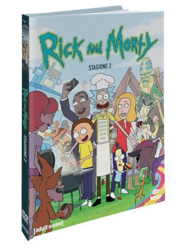 Rick And Morty: Stagione 02 (Mediabook CE) (2 Dvd)