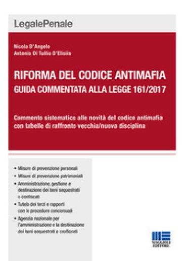 Riforma del codice antimafia - Nicola D'Angelo pdf epub