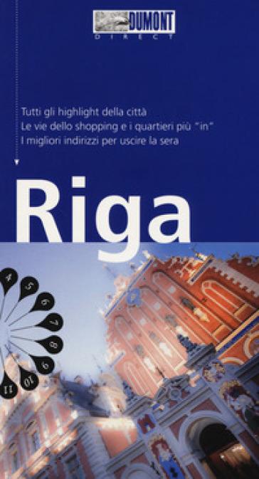 Riga. Con Carta geografica ripiegata - Jochen Konnecke  