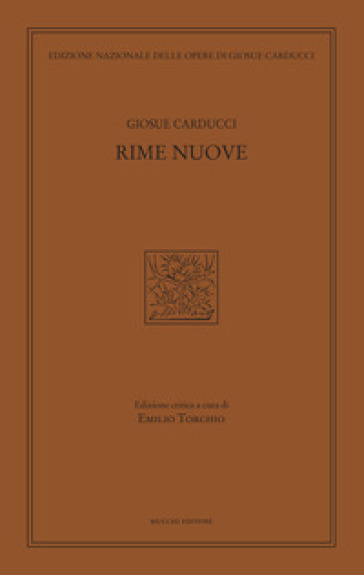 Rime nuove - Giosuè Carducci  