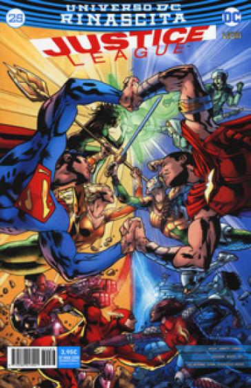 Rinascita. Justice League. 25. - D. Mattaliano pdf epub