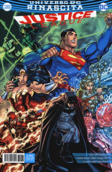 Rinascita. Justice League. 26. - D. Mattaliano | Rochesterscifianimecon.com