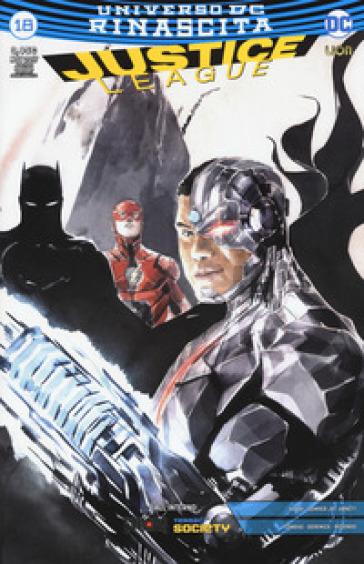 Rinascita. Justice League. Variant. 18. - D. Mattaliano | Rochesterscifianimecon.com