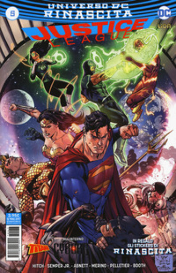 Rinascita. Justice League. Con Adesivi. 5. - D. Mattaliano  