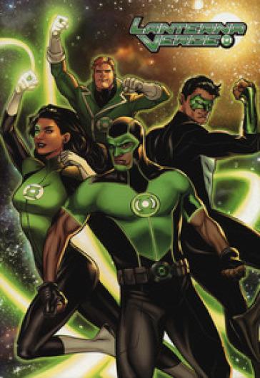 Rinascita. Lanterna verde. Jumbo edition (Sinestro). 26. - F. Vanagolli | Jonathanterrington.com